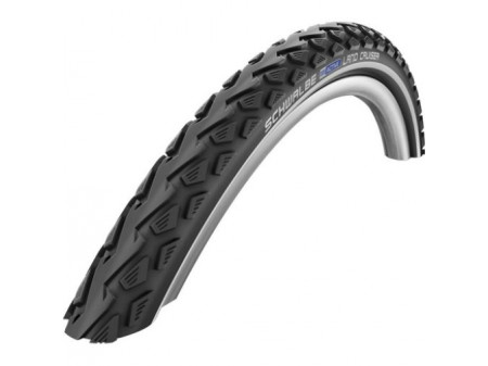 "Väliskumm 28"" Schwalbe Land Cruiser HS 450, Active Wired 42-622 Black-Reflex"