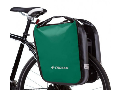 Pakiraamikott tagumine Crosso DRY BIG 60l green (paar)