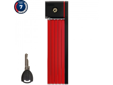 Lukk Abus uGrip Bordo 5700/80 red core