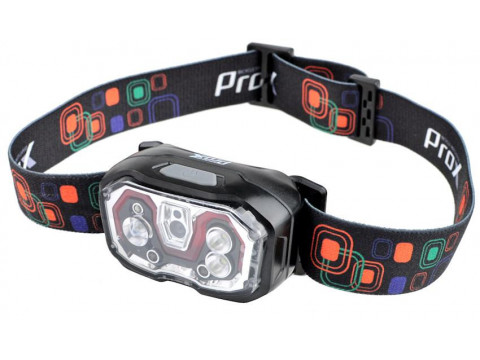 Esituli ProX Cetus No-Touch CREE XP-E 300Lm USB (headlamp)