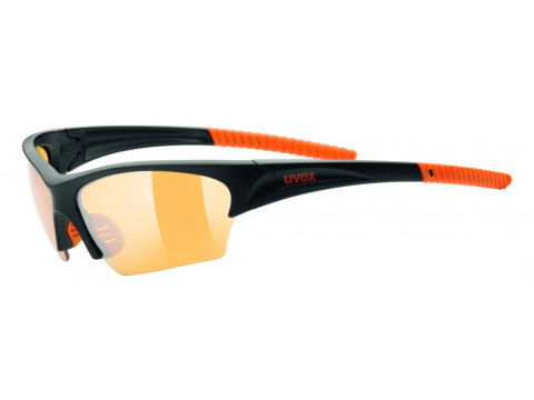 Prillid Uvex Sunsation black mat orange