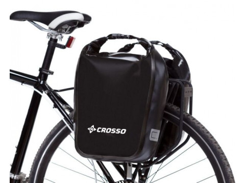 Pakiraamikott Crosso DRY SMALL 30l black (paar)