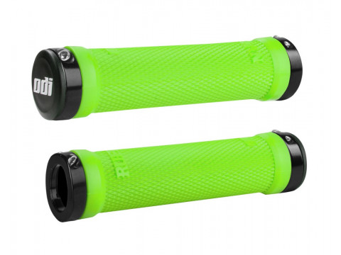 Käepidemed ODI Ruffian MTB Lock-On Bonus Pack Lime Greeen/Black