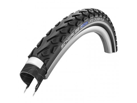 "Väliskumm 28"" Schwalbe Land Cruiser Plus HS 450, Active Wired 47-622 Black-Reflex"