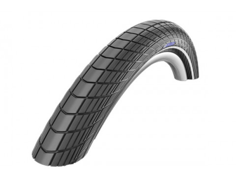 "Väliskumm 26"" Schwalbe Big Apple HS 430, Perf Wired 60-559 Black-Reflex"