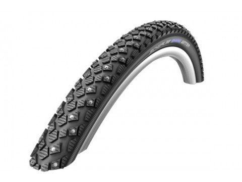 "Väliskumm 26"" Schwalbe Marathon Winter HS 396, Perf Wired 50-559 Black-Reflex"