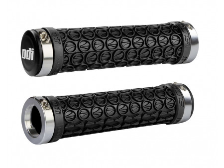 Käepidemed ODI SDG MTB Lock-On Bonus Pack Black w/Silver Clamps