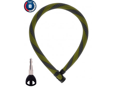 Lukk Abus IvyTex 7210/110 racing yellow