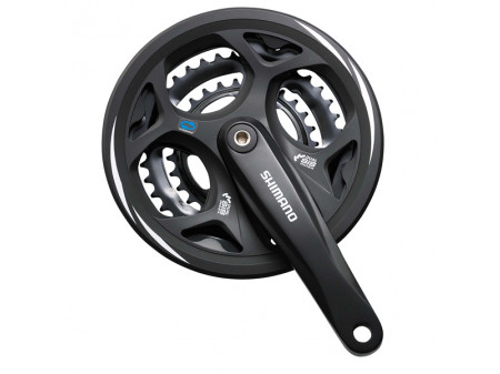 Vändad Shimano ALTUS FC-M311-48T 170MM 7/8-speed black