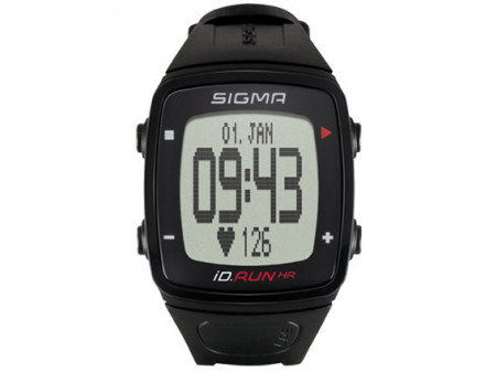 Pulsikell SIGMA iD.RUN HR GPS black