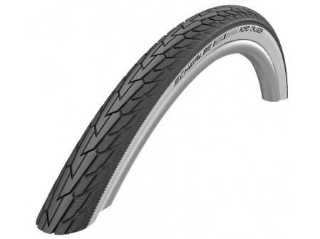 "Väliskumm 28"" Schwalbe Road Cruiser HS 484, Active Wired 42-622 GreenCompound Whitewall"