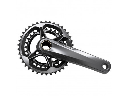 Vändad Shimano XTR FC-M9100-2 38x28 175MM 2x12-speed