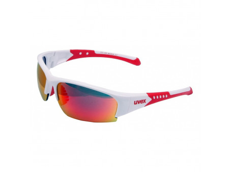 Prillid Uvex Sportstyle 217 white red