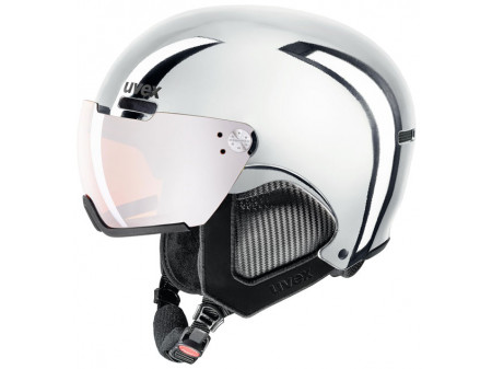 Suusakiiver Uvex HLMT 500 visor chrome LTD