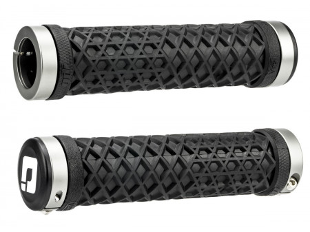 Käepidemed ODI Vans Lock-On Grips Black w/ Graphite Clamps