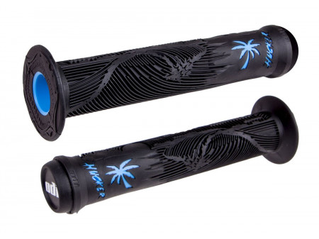 Käepidemed ODI Hucker Signature 160mm w/Flange Black/Blue