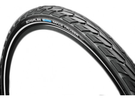 "Väliskumm 28"" Schwalbe Range Cruiser HS 457, Active Wired 40-622 Black-Reflex"