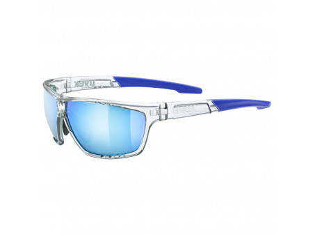 Prillid Uvex Sportstyle 706 clear / mirror blue