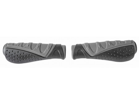Käepidemed Azimut Wave Ergo Dual 135mm black/grey (1004)
