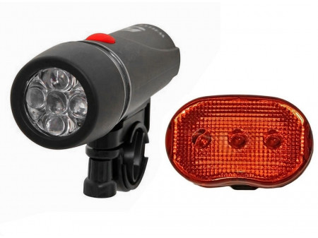 Tulede komplekt Azimut Torch+Oval 5/3LED with batteries