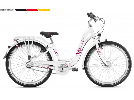 Jalgratas PUKY Skyride 24-3 Alu Light white