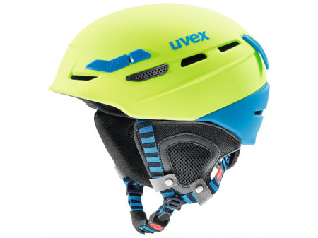 Kiivri Uvex p.8000 tour lime-blue mat