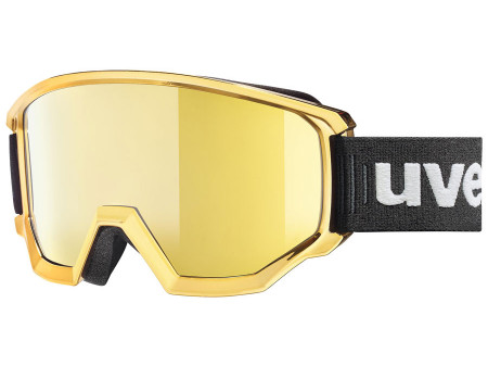 Suusaprillid Uvex Athletic FM chrome gold