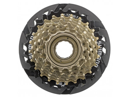 Tirr Shimano MF-TZ500 7-speed with guard