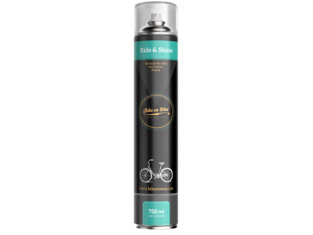 Poleerija aerosol Bike On Wax Ride & Shine 750ml