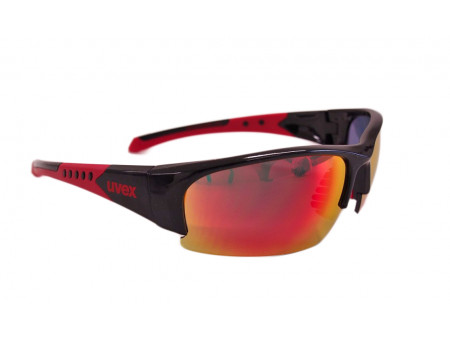 Prillid Uvex Sportstyle 217 black red