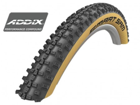 "Väliskumm 27.5"" Schwalbe Smart Sam HS 476, Perf Wired 57-584 Addix Classic-Skin"