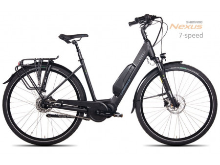 Elektrijalgratas UNIBIKE Swift 28 2019 black