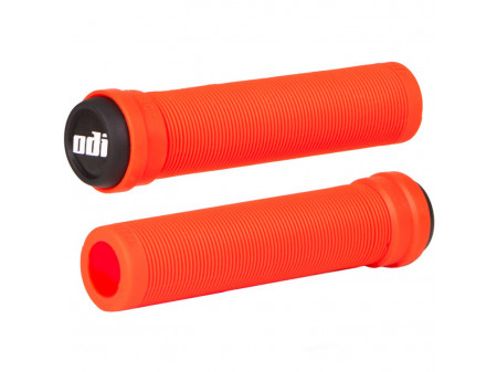 Käepidemed ODI Soft Longneck BMX Flangless 134mm Fire red