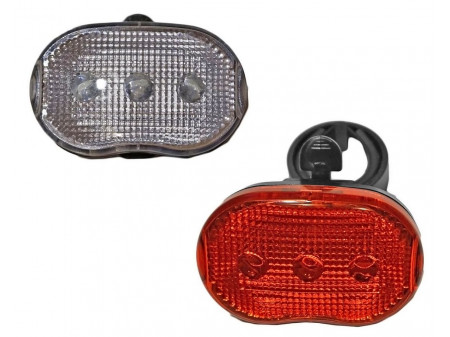 Tulede komplekt Azimut Set Oval 3LED with batteries