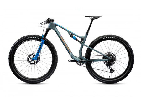 Jalgratas Merida NINETY-SIX 8000 2021 matt steel blue
