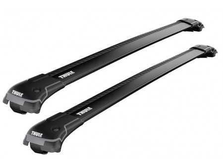 Katuseraami Thule WingBar Edge 958 (Railing) Set  black