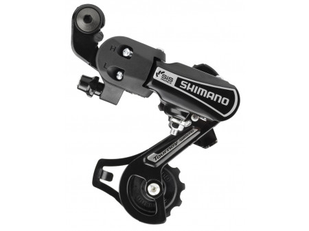 Tagavahetaja Shimano Tourney RD-TY21B Adapter 6-speed black