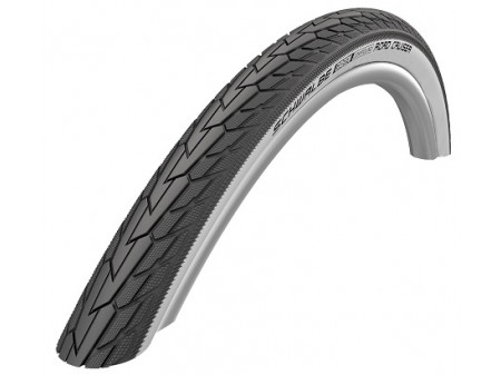 "Väliskumm 28"" Schwalbe Road Cruiser HS 484, Active Wired 47-622 Whitewall"