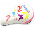 Sadul Azimut KIDS Butterfly 230x155mm white-pink (1035)