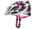 Kiivri Uvex Air wing white-pink
