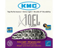 2. Kett KMC X10EL Silver 10-speed 114-links